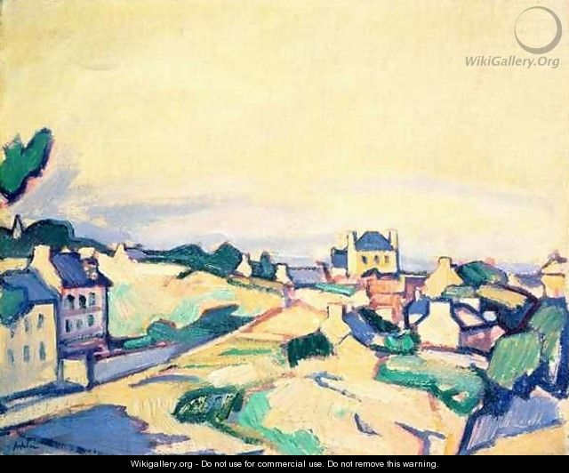 The Island of Brehat, 1911 - Samuel John Peploe