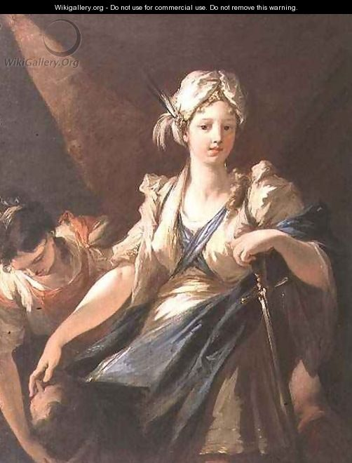 Judith and her Maidservant with the Head of Holofernes  c 1710    Judith And Her Maidservant With The Head Of Holofernes