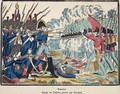 The Battle of Waterloo, 1815 engraved by Francois Georgin 1801-63 from Edition de la Revue Lorraine Illustree, pub. 1912 - (after) Pellerin, Jean-Charles