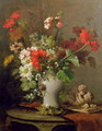 Summer Flowers in a Vase - Eugene Petit