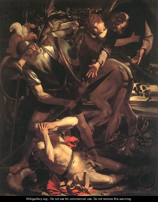 The Conversion of St. Paul - Caravaggio
