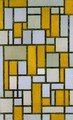 Composition with Gray and Light Brown - Piet Cornelis Mondrian