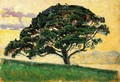 The Large Pine, Saint-Tropez - Paul Signac