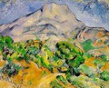 Mont Sainte-Victoire above the Tholonet Road - Paul Cezanne
