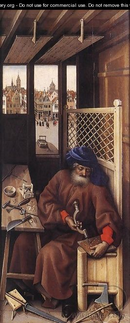 Mérode Altarpiece - Right Panel - Robert Campin