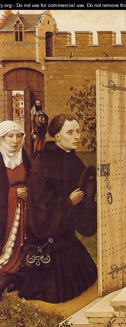 Mérode Altarpiece - Left Panel - Robert Campin