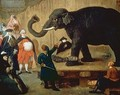 The Display of the Elephant - Pietro Longhi