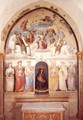 Trinity and Six Saints - Pietro Vannucci Perugino