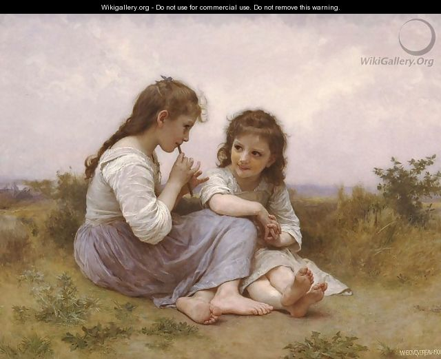 A Childhood Idyll - William-Adolphe Bouguereau