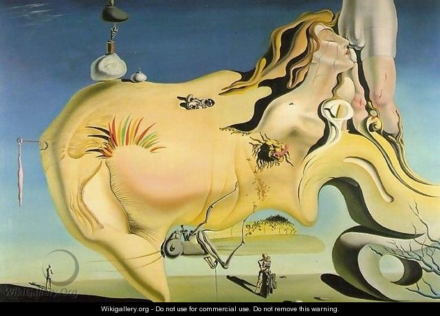 The Great Masturbator - Salvador Dali