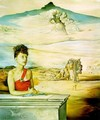 Portrait of Mrs. Jack Warner - Salvador Dali