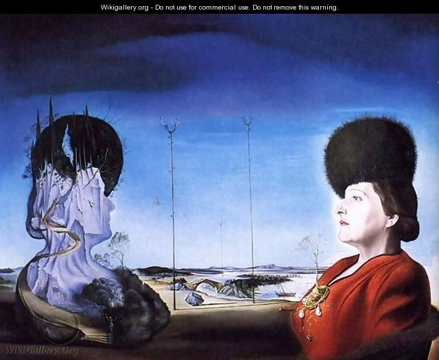 Portrait of Mrs. Isabel Styler-Tas - Salvador Dali