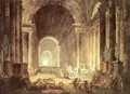 The Finding of the Laokoon - Hubert Robert
