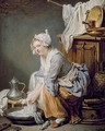 The Laundress - Jean Baptiste Greuze