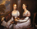 The Misses Mary and Hannah Murray - John Trumbull