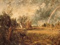 Cottage, Rainbow, Mill - John Constable