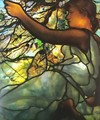 Tiffany Electrified Window Box: Spring - Louis Comfort Tiffany