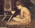 Study: At a Reading Desk - Lord Frederick Leighton