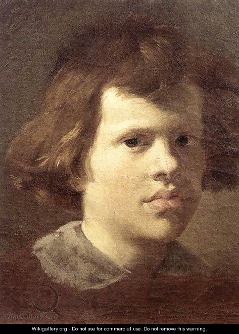Portrait of a Boy - Gian Lorenzo Bernini