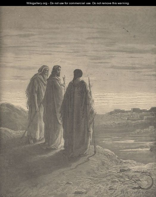The Journey To Emmaus - Gustave Dore