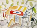 La Cocarde, Shot-down Plane - Fernand Leger