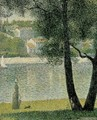 Seine at Courbevoie - Georges Seurat