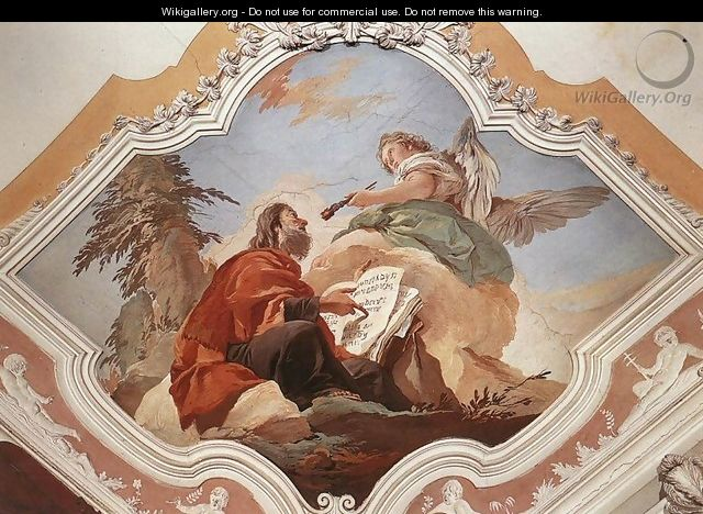 The Prophet Isaiah - Giovanni Battista Tiepolo
