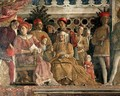 The Court of Mantua - Andrea Mantegna