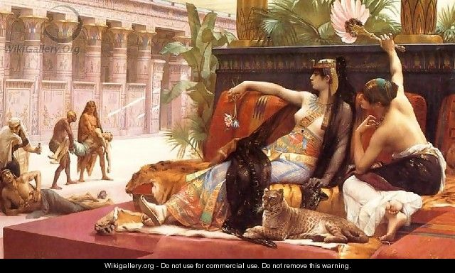 Cleopatra Testing Poisons on Condemned Prisoners - Alexandre Cabanel
