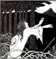 The Return of Tannhäuser to the Venusberg - Aubrey Vincent Beardsley