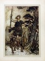 We will, fair queen, up to the mountains top... - Arthur Rackham