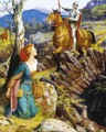 Overthrowing of the Rusty Knight - Arthur Hughes