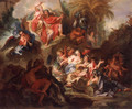 Louis XIV in Glory After the Peace of Nijmegen - Antoine Coypel