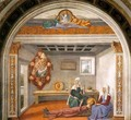 Announcement of Death to St Fina - Domenico Ghirlandaio
