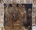 Madonna Enthroned with the Child, St Francis and four Angels - (Cenni Di Peppi) Cimabue