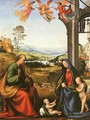 The Holy Family with the Infant St. John in a Landscape - Fra Bartolomeo