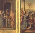 Circumcision and Nativity - Fra Bartolomeo