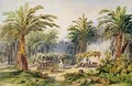 The Fabrication of Palm Oil at Whydah - Edouard Auguste Nousveaux