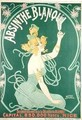 Poster advertising Absinthe Blanqui - Nover