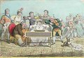 Playing in Parts etched by James Gillray 1757-1815 - (after) North, Brownlow