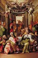 The Presentation in the Temple 1567 - (Giovanni Frencesco Bezzi) Nosadella