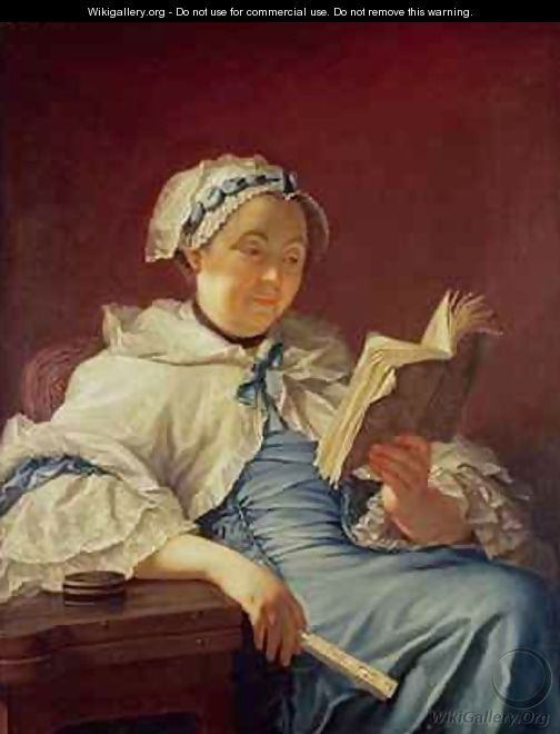 The artists wife 1758 - (attr. to) Nonotte, Donat