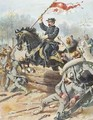 General Sheriden at the Battle of Five Forks Virginia 1st April 1865 - Henry Alexander Ogden