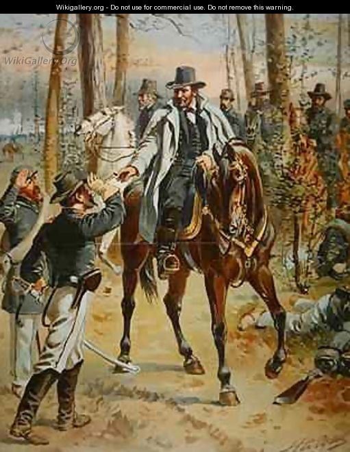 General Grant in the Wilderness Campaign 5th May 1864 - Henry Alexander Ogden