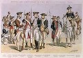 American Uniforms in the Revolutionary Wars 1775-83 - Henry Alexander Ogden