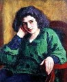 Portrait of Renee Honta 1920 - Roderic O'Conor