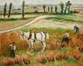 Harvesting with a White Horse - Roderic O'Conor