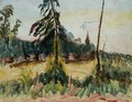Landscape with Trees and a Small Church - Roderic O'Conor