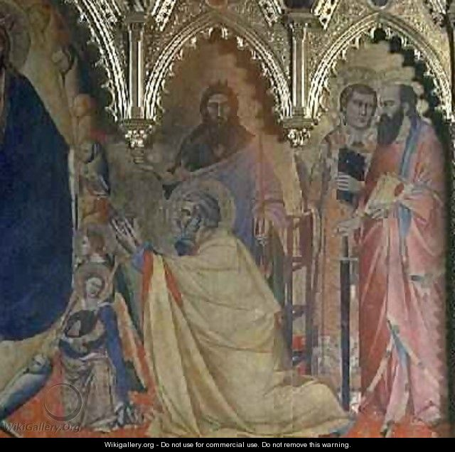 The Strozzi Altarpiece 1357 - Andrea Orcagna