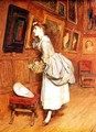 In the Picture Gallery - Sir William Quiller-Orchardson